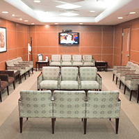 Advanced Spine Center waiting room