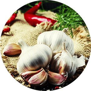 garlic for back inflammation