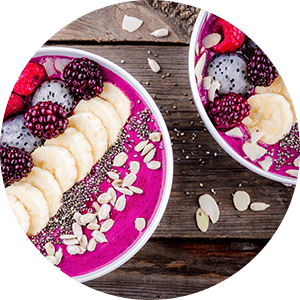 smoothie bowl for weight loss to treat herniated disc