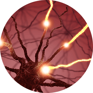 irritated nerve tissue
