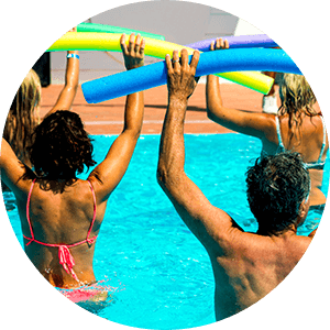 water aerobics class for arthritis pain